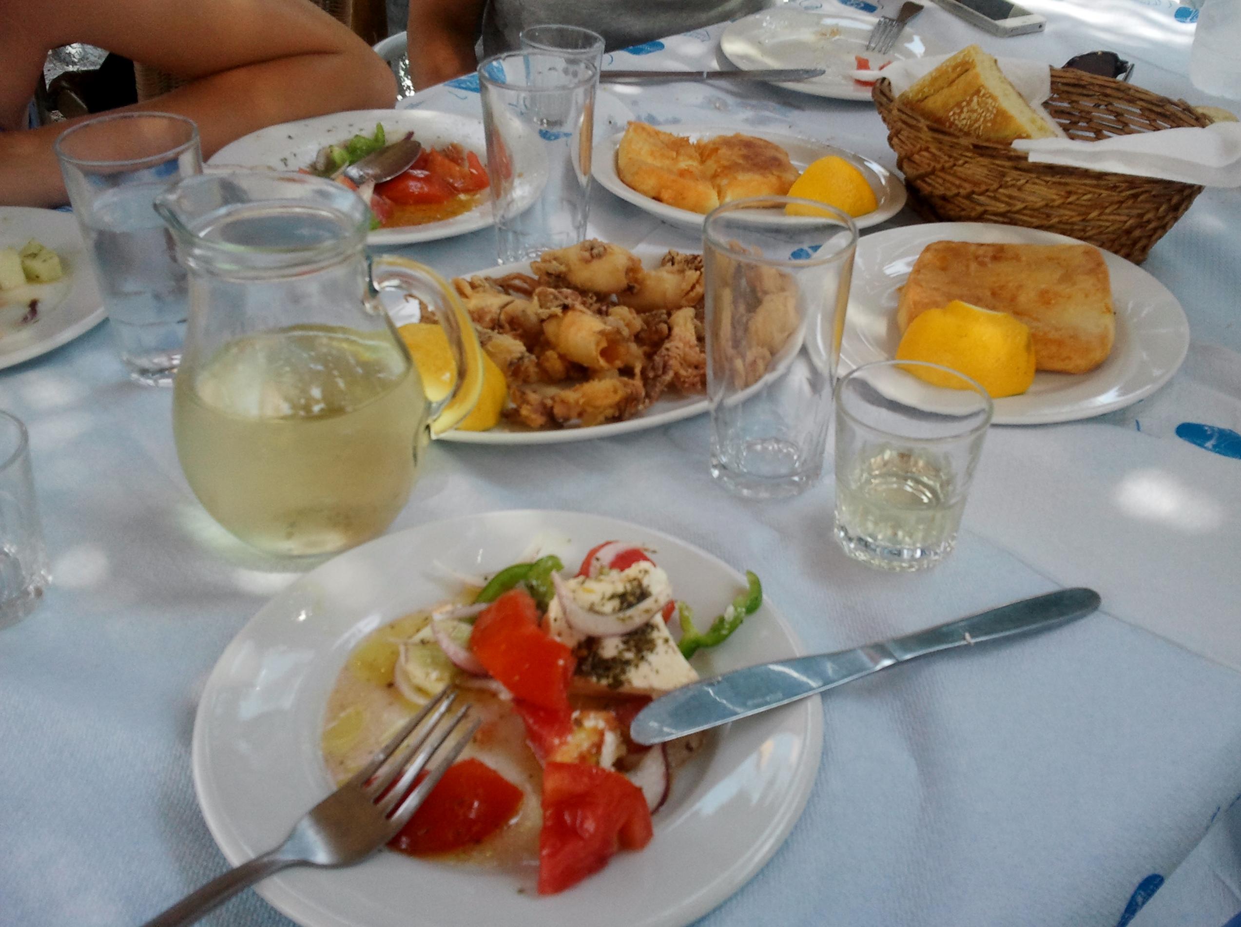 Sojarose e tutti quanti la cuisine grecque for Cuisine grecque